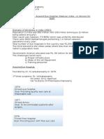 Case Study Analysis - Aravind Hospital