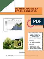 Estudio de Mercado de Alchachofa en Conserva