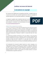 Ud 8-1b Reutilizar Recursos de Internet Con Copyright