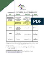 Calendario EPA 2010