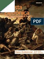 Revista Eletrônica (SET 2013 - Nº 22 - Dano Existencial)
