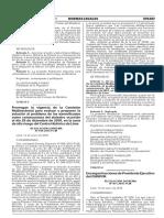 Resolución sobre cese de funciones de Presidente Ejecutivo del OSINFOR RESOL
