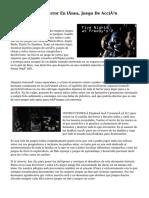 Mission Against Terror En línea, Juego De Acción