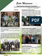 Boletin 153 INFORME MISIONERO DE ARGENTINA - MARZO 2010