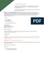 Chexsystems Form 1,2,3 & 4