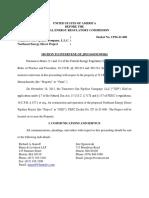 Jim Ogonowski Motion to Intervene in Northeast Energy Direct Pipeline