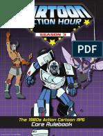 Cartoon Action Hour Season 3 Sourcebook