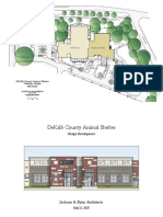 DeKalb County Animal Shelter as prepared by Jackson & Ryan Architects