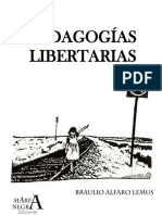 Alfaro Lemús. Pedagogías Libertarias