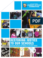 New Settlement Restoring Justice Report