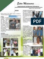 Boletin 154 INFORME MISIONERO DE HONDURAS - MARZO 2010