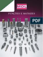 Catálogo Punções e Matrizes MDL
