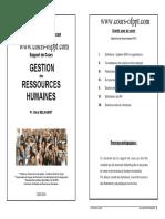 Gestion de Ressource Humain