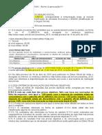 Recortes EDITAL INSS