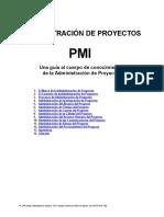 PMBOK Edicin 1996