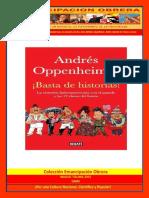 Basta de Historias - Andres Oppenheimer