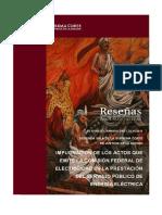 jurisprudencia CFE