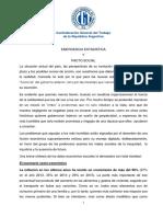 Documento Preliminar 2 2 Emergencia Estadística y Pacto Social