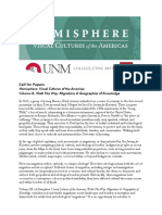 Hemisphere Volume IX Call for Papers