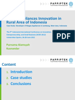Biogas Appliances Innovation in Rural Area of Indonesia