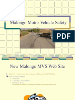 Changing Our Motor Vehicle Safety Record