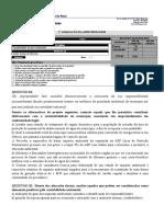 Avaliação Contabilidade Social e Ambiental 1 Registro