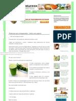 Jugo Adelgazante Potente_ Limón Con Pepino _ Healing Natureza.com.Br