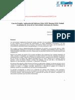 Caso de Estudio Aplicación Del Software Libre GNU Denemo 0.9.0. Unidad Académica de Artes de La UAS