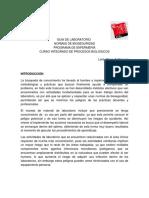 Practica Normas de Bioseguridad I 2014