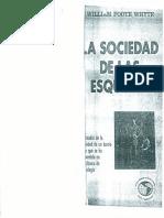 La Sociedad de Las Esquinas w Foote Whyte