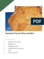 Sambel Pecel Khas Kediri.docx
