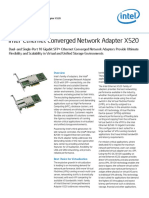 Ethernet x520 Server Adapters Brief
