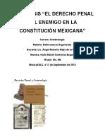 El Derecho Penal Del Enemigo