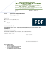 contoh Surat Walikota insentif