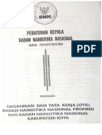 9. Peraturan Kepala Bnn No 04 Tahun 2010 Tentang Organisasi Dan Tata Kerja Bnnp&Bnnk