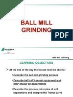 3 - Ball Mill Grinding