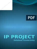 computer project on databae connectivity