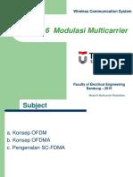 Modulasi Multicarrier