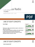 Radio Engineering - Line of Sight
