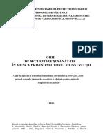 Ghid SSM in Constructii