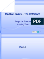 Extra Material Matlab