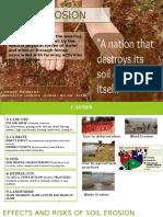 Soil Erosion Seminar