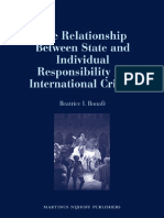 B. Bonafe, The Relationship Between State and Individual Responsibility for Genocide