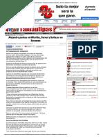 13-01-2016 HoyTamaulipas - Alejandro puntea en Mitofsky, Bernal y Baltazar en Berumen.pdf