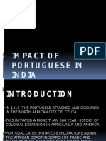 Impact of Portuguese in India