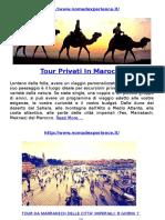 Tour Privati in Marocco