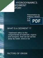 sediment transport Seminar