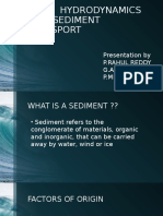 sediment transport Seminar