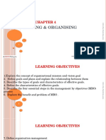 Chap 4 Planning and Organising (Class)