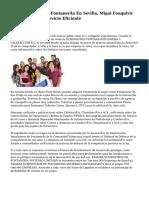 En Suministros De Fontanería En Sevilla, Migal Fonquivir Da Pluralidad Y Servicio Eficiente